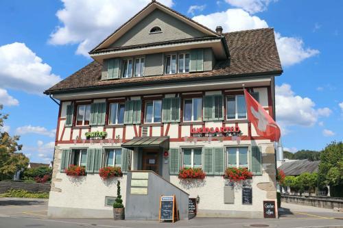 Gasthof Pizzeria Weingarten - Accommodation - Affoltern