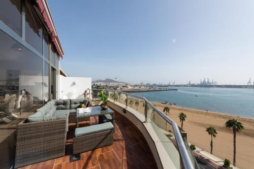 Atico Penthouse on the Beach Foto 1