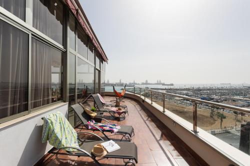 Atico Penthouse on the Beach Foto 4