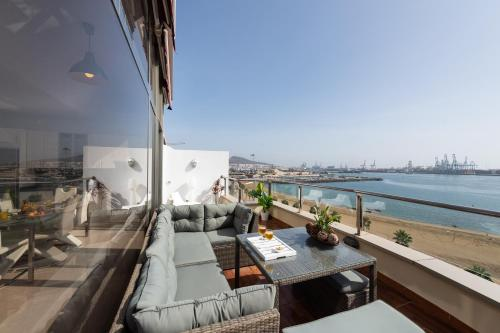 Atico Penthouse on the Beach Foto 9