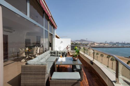 Atico Penthouse on the Beach Foto 10