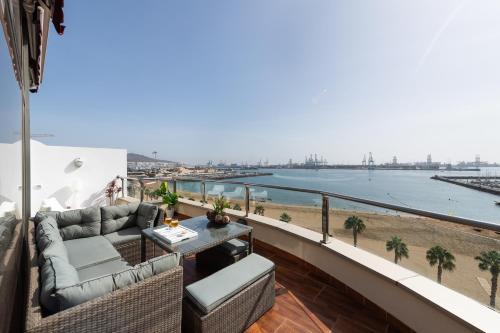Atico Penthouse on the Beach Foto 11