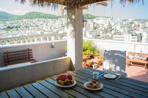 Old-Town Roof-Garden Suite in Kavala