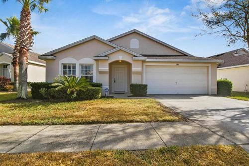 Hampton Lakes Four Bedroom House With Private Pool 7g4 - Davenport, FL 33897