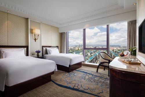 Kasion International Hotel Yiwu Oda fotoğrafları