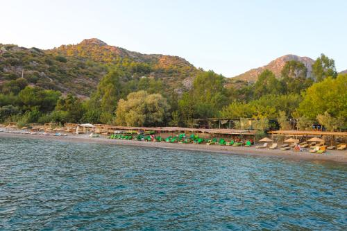 Datca Mesudiye Bizim Cennet 2 bedrooms Datca Daily Weekly rentals address