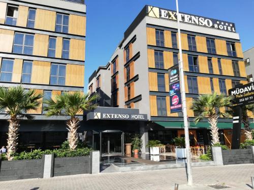 Gaziemir Extenso Hotel rooms