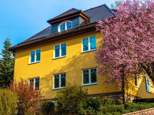 . Modern apartment in the middle of the Thuringian Forest with use of garden and sauna