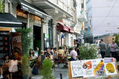 Istanbul Galatasaray Terrace Apartment reservation