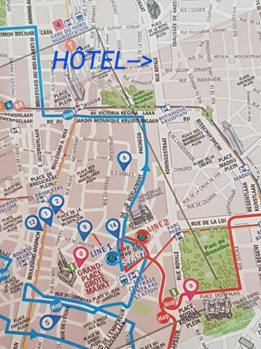 Фото отеля Hotel Brussels Royotel