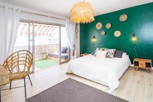 . Palm Tree - magnifique studio au cœur du carré d'or à Saint-Denis
