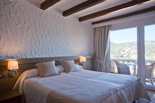 Double Room with Sea View Hotel Villa Italia 8