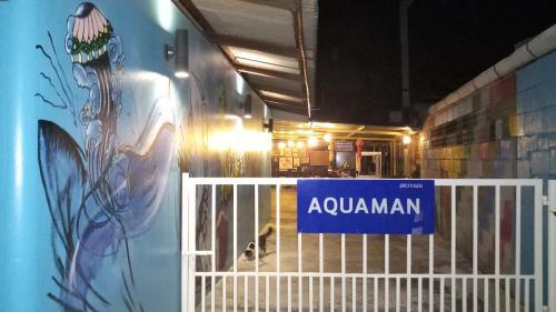 Aquaman @chalong pier Aquaman @chalong pier