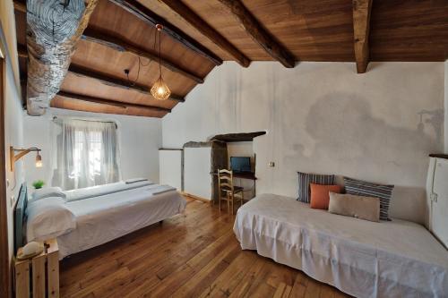 Habitación Doble Deluxe - 2 camas - Uso individual Casa Rural Piñeiro, de Vila Sen Vento 3