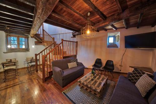 Habitación Doble Deluxe - 2 camas - Uso individual Casa Rural Piñeiro, de Vila Sen Vento 11