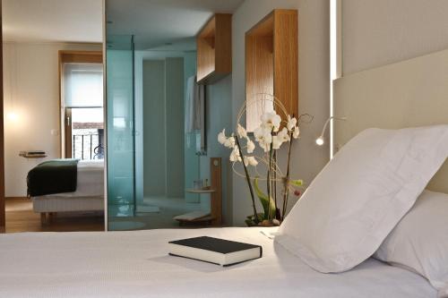 Habitación Doble Estándar - Uso individual Echaurren Hotel Gastronómico 4