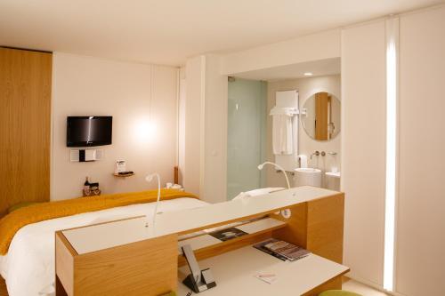 Habitación Doble Estándar - Uso individual Echaurren Hotel Gastronómico 2