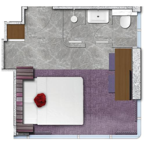 Butterfly on LKF Boutique Hotel Central Улучшенный двухместный номер с 1 кроватью или 2 отдельными кроватями