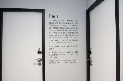 Best Western Plus Hôtel Littéraire Marcel Aymé photo 86