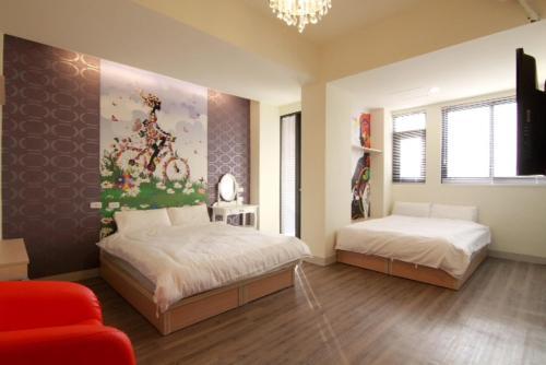 Flora Hostel 部屋の写真