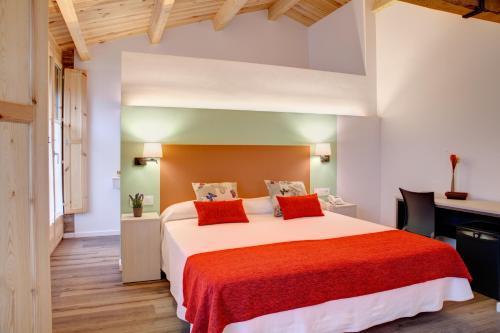 Habitación Doble Deluxe con chimenea - 1 o 2 camas Hotel La Freixera 10