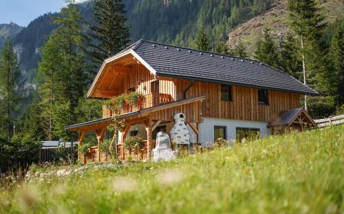 Almchalet Pöllatal - Accommodation - Katschberg-Aineck-Rennweg