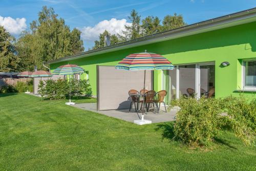 Bungis   Ferienhäuser am Grimnitzsee, Karree ***Haus 5