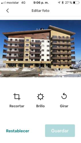 Valle Nevado Ski Resort Apartament - Apartment - Valle Nevado