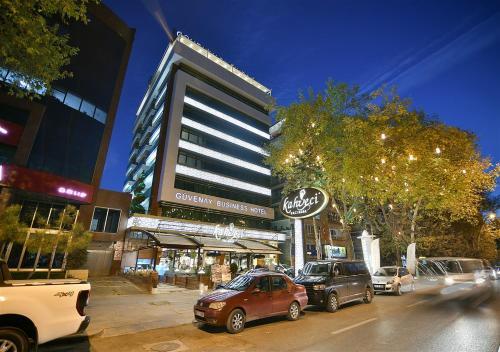 Ankara GÜVENAY BUSINESS HOTEL ulaşım