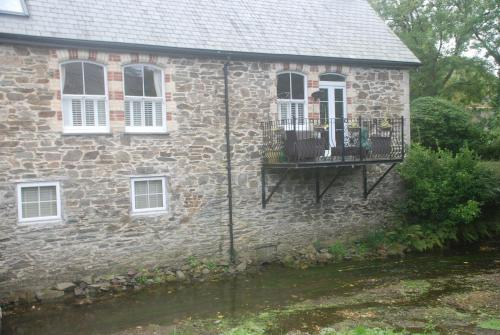 House On The Bridge, Grampound, Cornwall