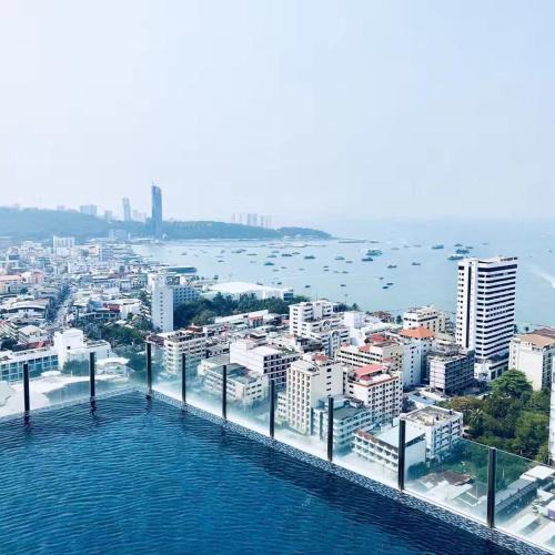 The Base Pattaya City Center Sea View Room The Base Pattaya City Center Sea View Room
