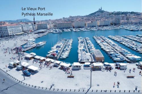 Hotel Appartement Le Pytheas Vieux Port