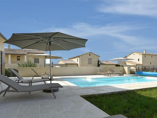 Luxurious Villa in Uzes with Private Swimming Pool - Accommodation - Garrigues-et-Sainte-Eulalie