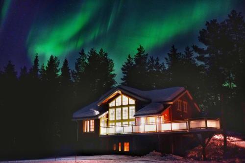 Northern Lights Lapland Villa