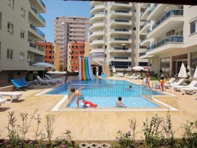Mahmutlar Элитные апартаменты в комплексе гостиничного типа Duplex 2+1 Penthouse 120 м2