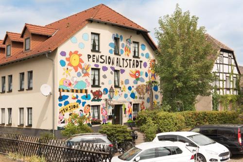Фото отеля Pension Altstadt Borna