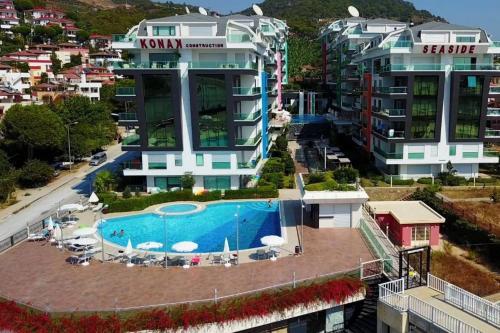 Kargicak Konak Seaside Homes 2+1 Luxury Apartments fiyat