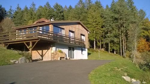 chalet vue imprenable veranda terrasse sauna wifi - Chalet - Xonrupt-Longemer