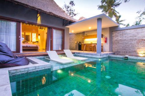 . A Villa Gili Air