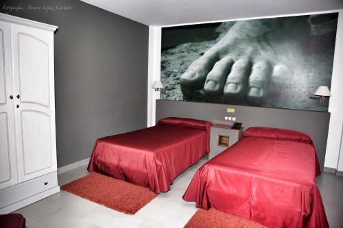 Doppel- oder Zweibettzimmer Hotel Balneario de Zújar 5