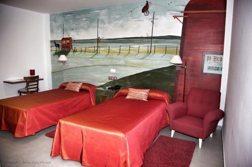 Habitación Doble - 1 o 2 camas Hotel Balneario de Zújar 6