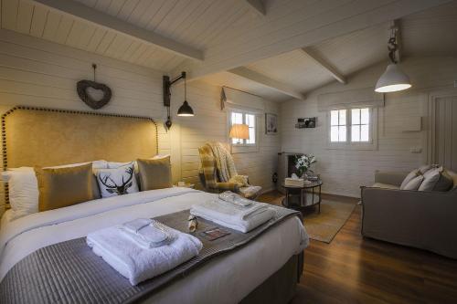 Chalet de 1 dormitorio (Suite Lodge) Hotel La Escondida-Singular's Hotels 3