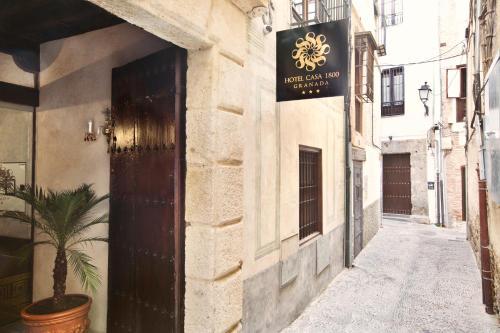 Habitación Individual Básica Hotel Casa 1800 Granada 37