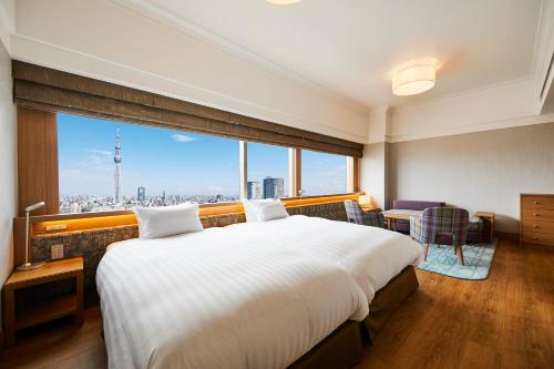 Deluxe Twin Room with Tokyo Sky Tree View