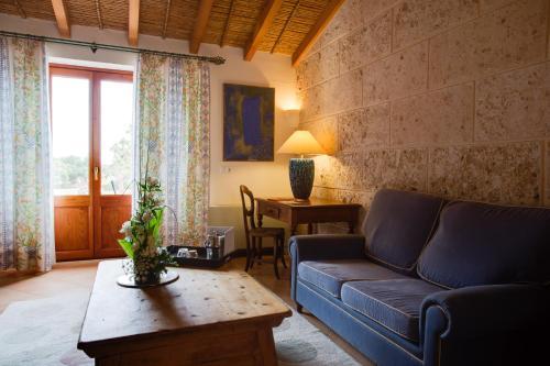 Habitación Doble Superior con terraza Casal Santa Eulalia 5