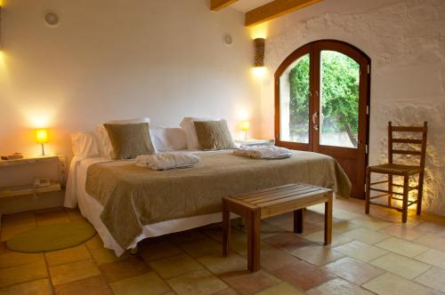 Double or Twin Room with Terrace Alcaufar Vell Hotel Rural & Restaurant 4