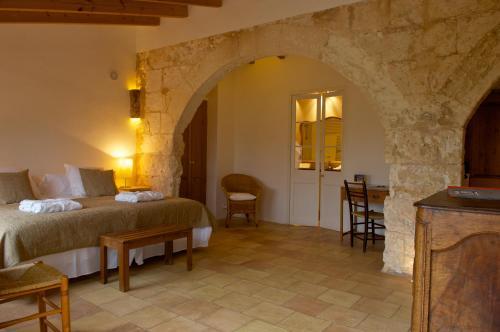 Junior Suite with Terrace Alcaufar Vell Hotel Rural & Restaurant 9