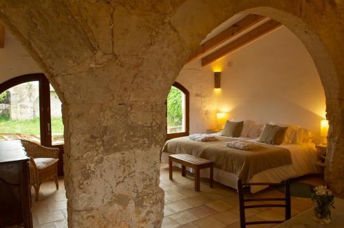 Suite Junior con terraza Alcaufar Vell Hotel Rural & Restaurant 8
