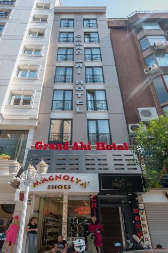 Istanbul GRAND AHİ HOTEL harita