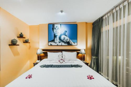 Luxury Deluxe Double or Twin Room with Ocean View
